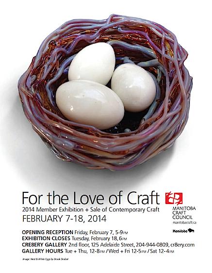 Manitoba Craft Council vernissage