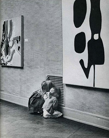 children-not-looking-at-modern-art