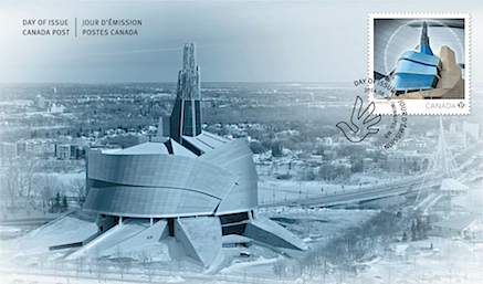 CMHR_official_first_day_cover