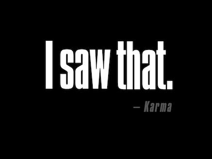 I_saw_that-Karma